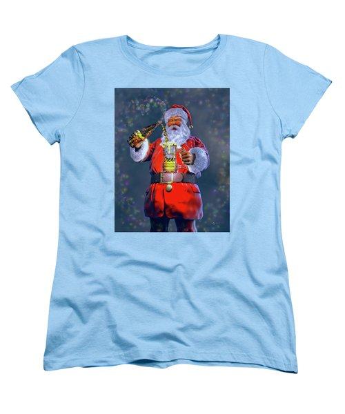 Christmas Cheer Iv Women's T-Shirt (Standard Cut) by Dave Luebbert