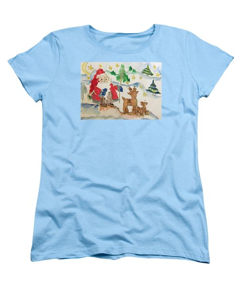 Christmas Is Coming  Women's T-Shirt (Standard Cut)