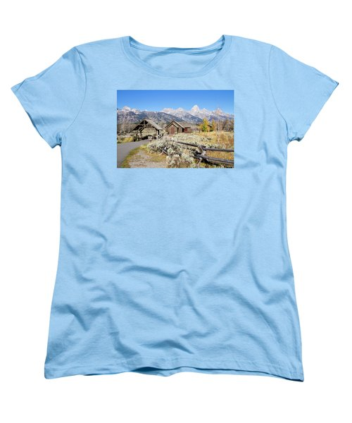 Women's T-Shirt (Standard Cut) featuring the photograph Church Of The Transfiguration by Shirley Mitchell