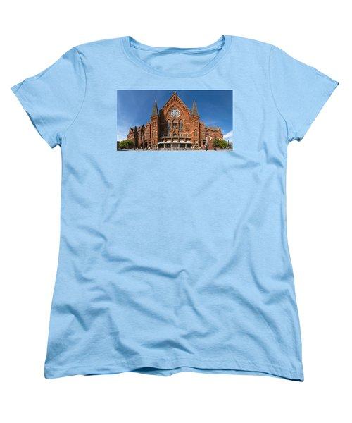 Women's T-Shirt (Standard Cut) featuring the photograph Cincinnati Music Hall by Rob Amend