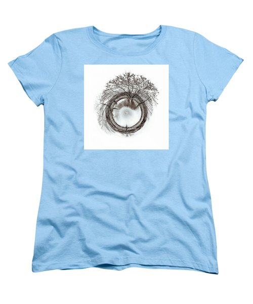 Women's T-Shirt (Standard Cut) featuring the photograph Circle Of Trees by Wade Brooks