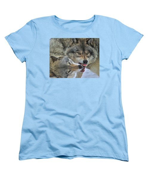 Women's T-Shirt (Standard Cut) featuring the photograph Circle by Tony Beck