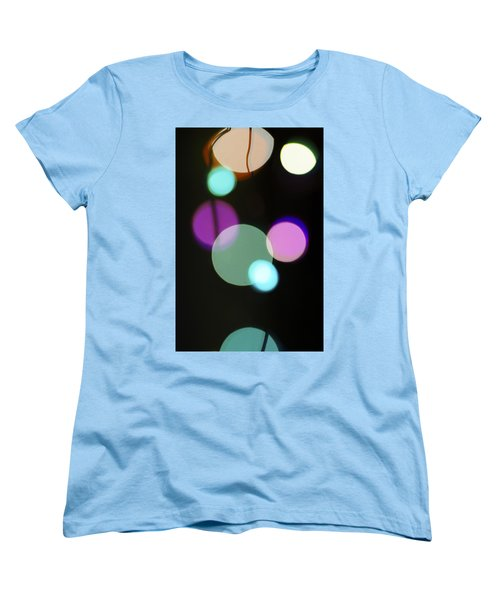 Circles And String Women's T-Shirt (Standard Cut) by Susan Stone