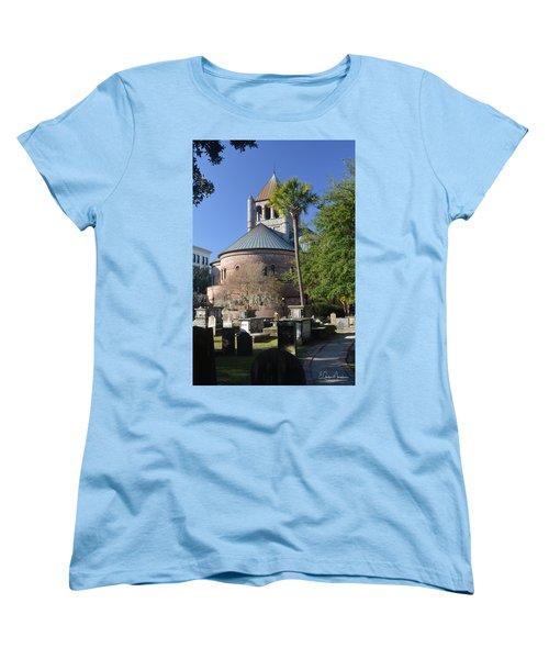Circular Congregational Chuch 2 Women's T-Shirt (Standard Cut) by Gordon Mooneyhan
