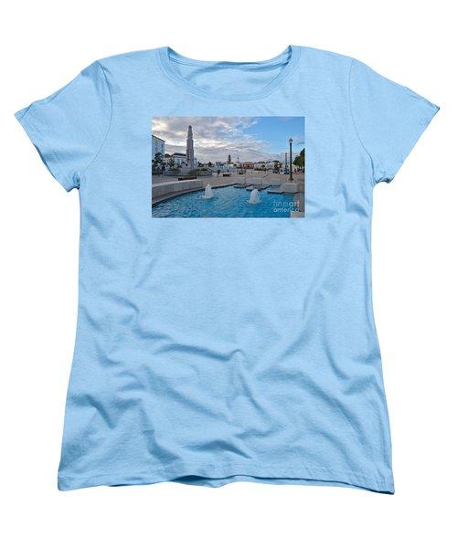 City Center Of Tavira Women's T-Shirt (Standard Cut) by Angelo DeVal