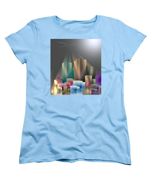 City Of Light 5-2 2016 Women's T-Shirt (Standard Cut) by John Krakora