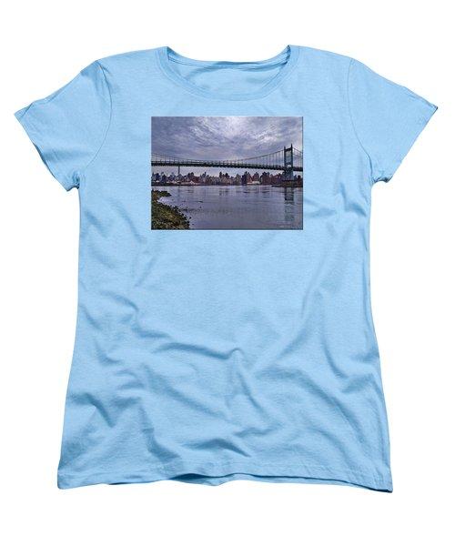 City Scape From Astoria Park Women's T-Shirt (Standard Cut) by Mikki Cucuzzo