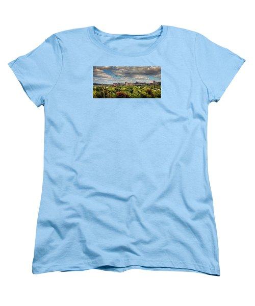 City Skyline Women's T-Shirt (Standard Cut) by Everet Regal