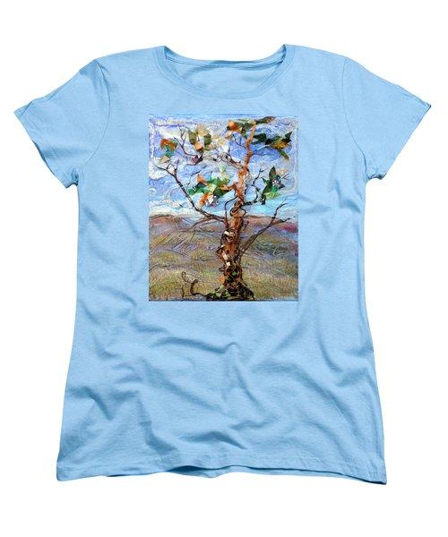 Clarity Women's T-Shirt (Standard Cut) by Regina Valluzzi