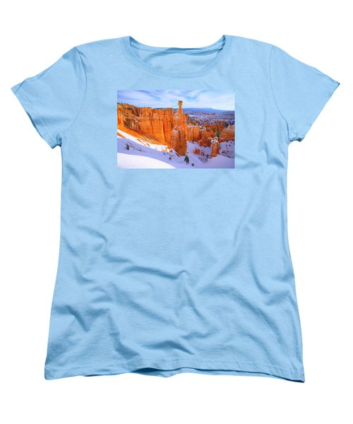 Women's T-Shirt (Standard Cut) featuring the photograph Classic Bryce by Chad Dutson