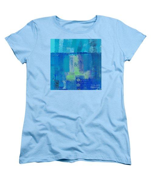 Women's T-Shirt (Standard Cut) featuring the digital art Classico - S03c06 by Variance Collections