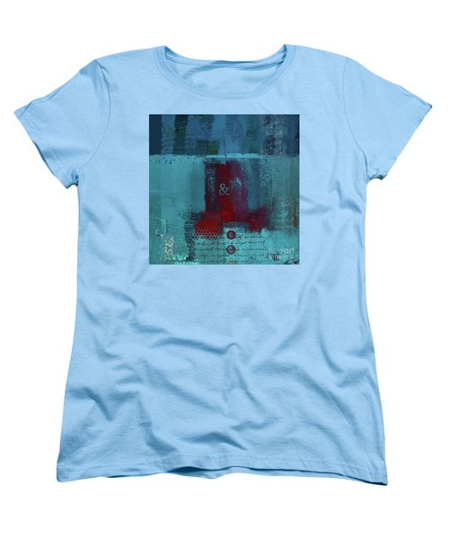 Women's T-Shirt (Standard Cut) featuring the digital art Classico - S03b by Variance Collections