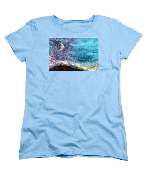 Clay Moon Women's T-Shirt (Standard Cut) by Winsome Gunning