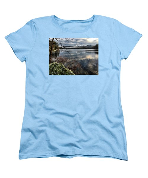 Clearing Sky Women's T-Shirt (Standard Cut) by Betty Pauwels