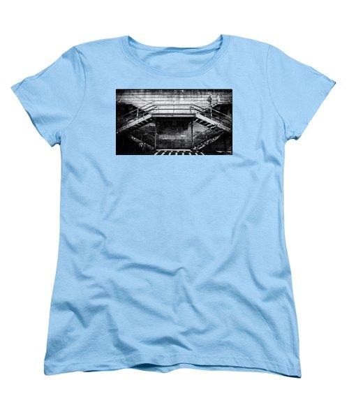 Climb The Stairs Women's T-Shirt (Standard Cut) by M G Whittingham