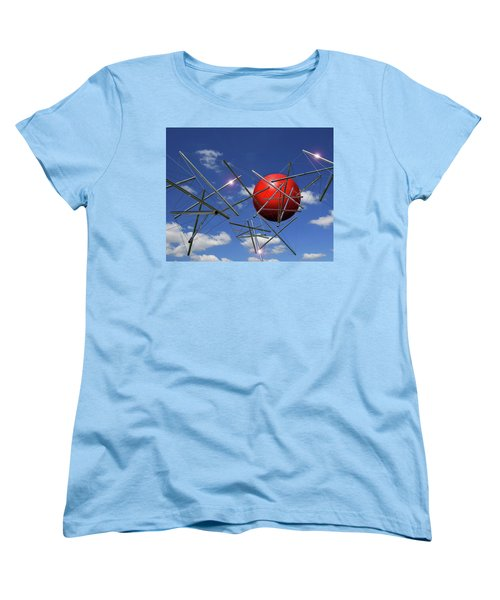 Women's T-Shirt (Standard Cut) featuring the photograph Close Encounters by Christopher McKenzie