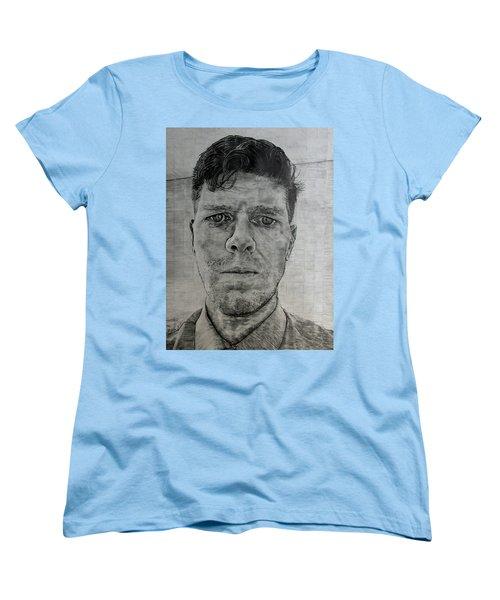Close Self Portrait Women's T-Shirt (Standard Cut)