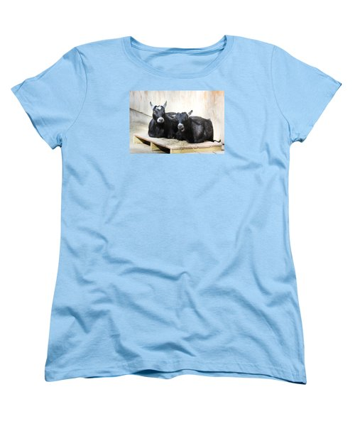 Women's T-Shirt (Standard Cut) featuring the photograph Close To You by Trina  Ansel