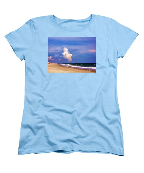 Women's T-Shirt (Standard Cut) featuring the photograph Cloud Approaching by Roberta Byram