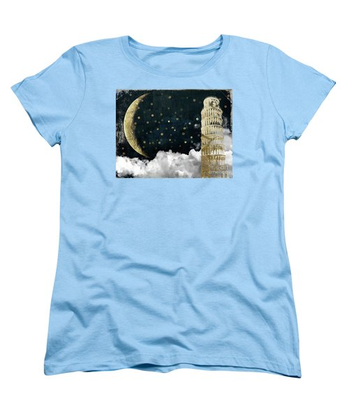 Cloud Cities Pisa Italy Women's T-Shirt (Standard Cut) by Mindy Sommers