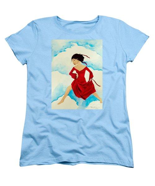 Cloud Dancing Of The Sky Warrior Women's T-Shirt (Standard Cut)
