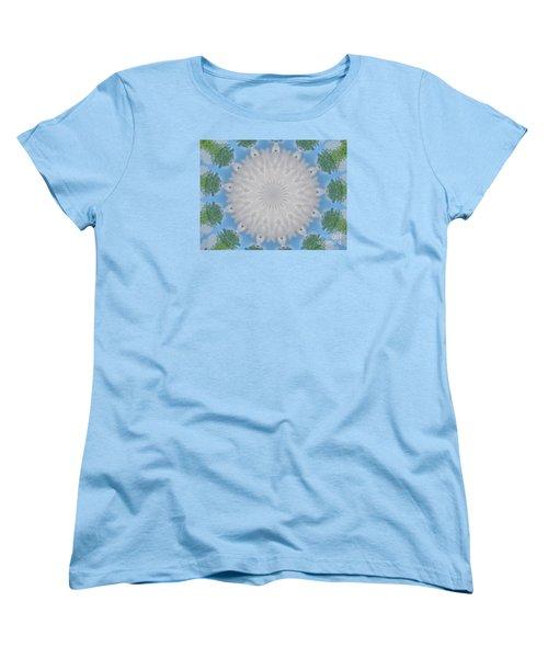 Cloud Medallion Women's T-Shirt (Standard Cut) by Shirley Moravec