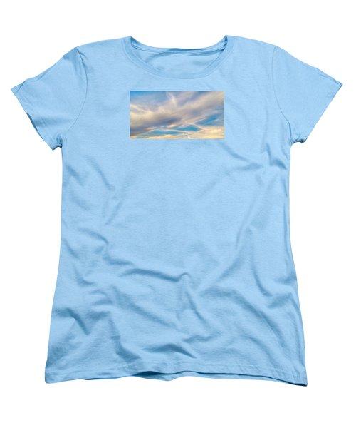 Cloud Wisps Women's T-Shirt (Standard Cut) by Audrey Van Tassell