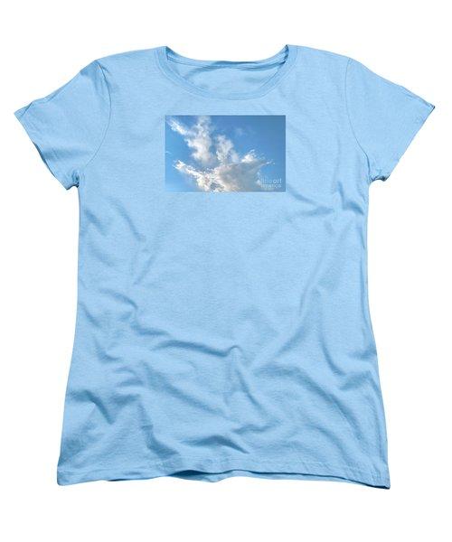 Cloud Wisps Too Women's T-Shirt (Standard Cut) by Audrey Van Tassell