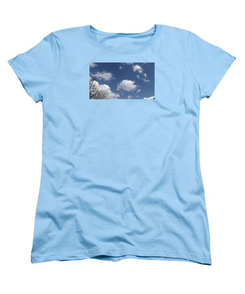 Cloudbank 3 Women's T-Shirt (Standard Cut) by Don Koester