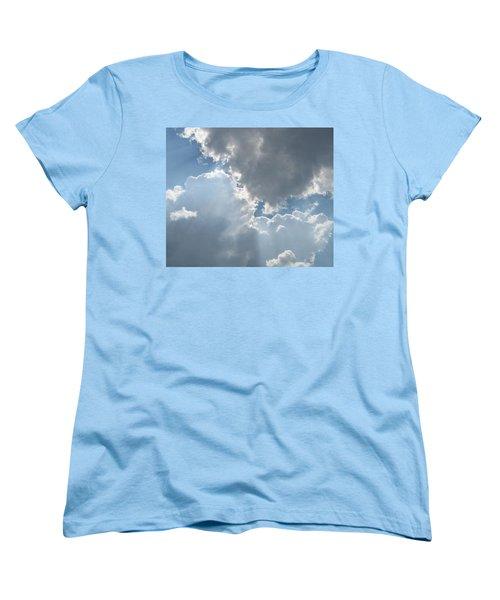 Clouds 1 Women's T-Shirt (Standard Cut) by Barbara Yearty