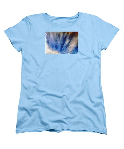 Women's T-Shirt (Standard Cut) featuring the photograph Clouds 12 by Spyder Webb