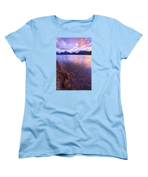 Clouds And Wind Women's T-Shirt (Standard Cut) by Chad Dutson