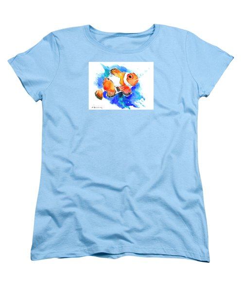Clownfish Women's T-Shirt (Standard Cut) by Suren Nersisyan