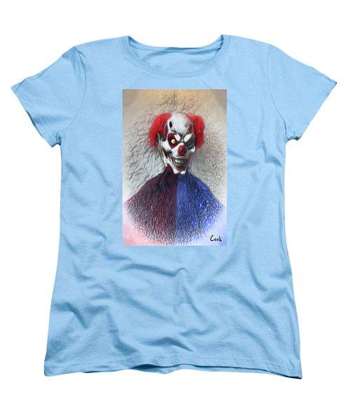 Clownitis Women's T-Shirt (Standard Cut) by Terry Cork