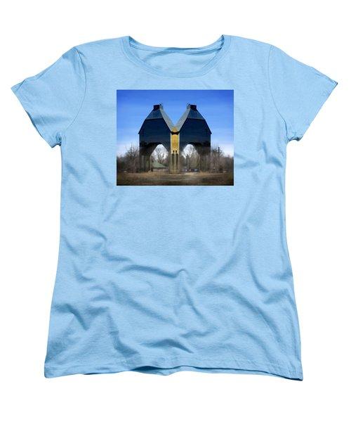 Coal Loader New Buffalo Women's T-Shirt (Standard Cut) by John Hansen