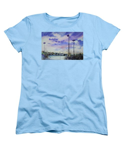 Coastal Beach Highway Women's T-Shirt (Standard Cut) by P Anthony Visco