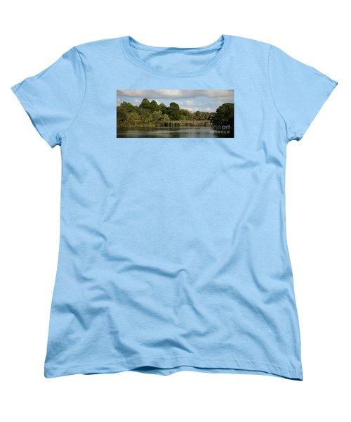 Coastal Serenity Women's T-Shirt (Standard Cut) by Pamela Blizzard