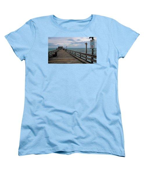 Cocoa Beach  Women's T-Shirt (Standard Cut) by Pat Cook