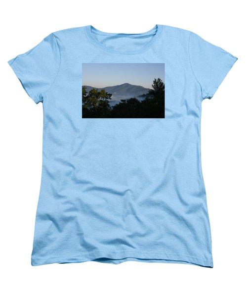 Cold Mountain North Carolina Women's T-Shirt (Standard Cut) by Stacy C Bottoms