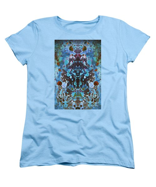 Color Abstraction Iv Women's T-Shirt (Standard Cut) by David Gordon