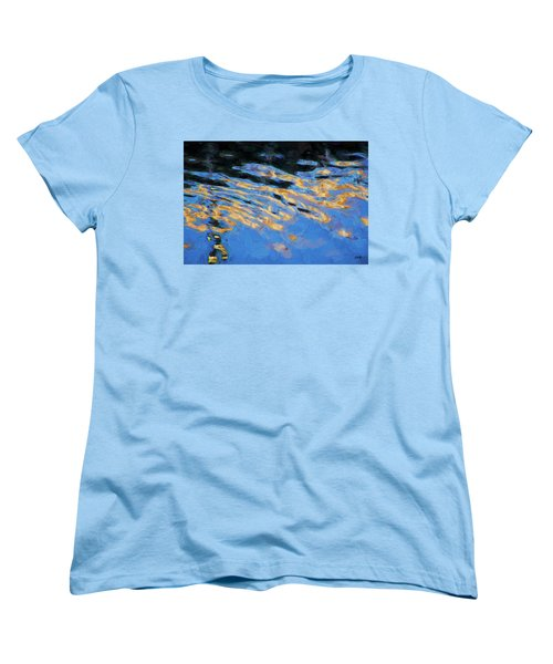 Women's T-Shirt (Standard Cut) featuring the photograph Color Abstraction Lxiv by David Gordon