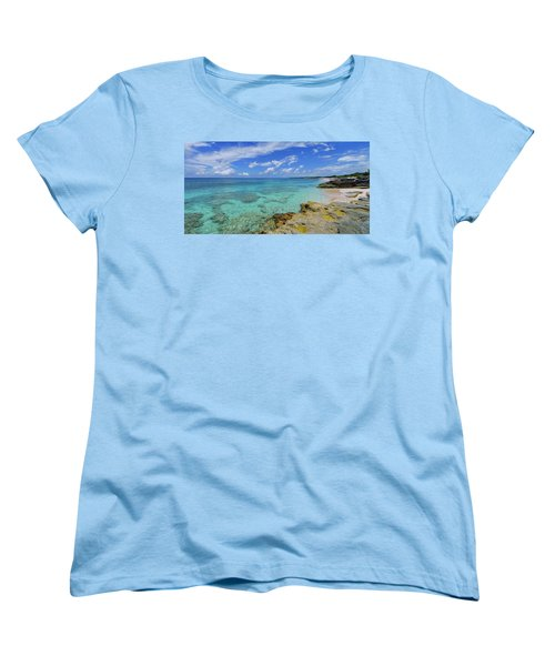 Color And Texture Women's T-Shirt (Standard Cut) by Chad Dutson