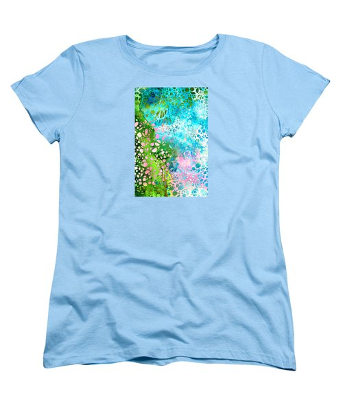 Colorful Art - Enchanting Spring - Sharon Cummings Women's T-Shirt (Standard Fit)