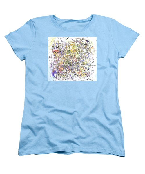Colorful Blog Women's T-Shirt (Standard Cut) by Lisa Kaiser