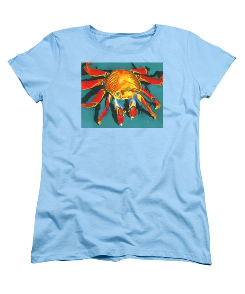 Colorful Crab II Women's T-Shirt (Standard Cut) by Stephen Anderson