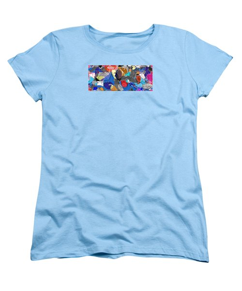 Women's T-Shirt (Standard Cut) featuring the digital art Colorful Daydream by Gabrielle Schertz
