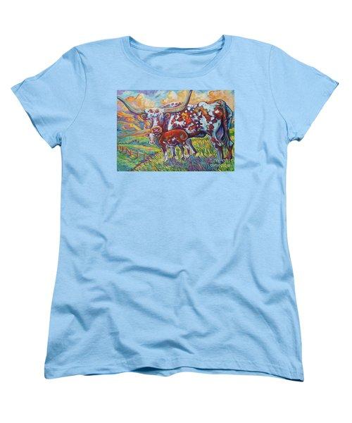 Colorful Momma Women's T-Shirt (Standard Cut) by Jenn Cunningham