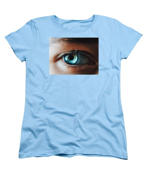 Women's T-Shirt (Standard Cut) featuring the photograph Colors by Parker Cunningham