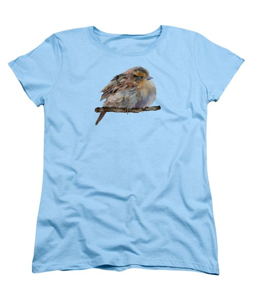 Colourful Sparrow Women's T-Shirt (Standard Cut) by Bamalam  Photography