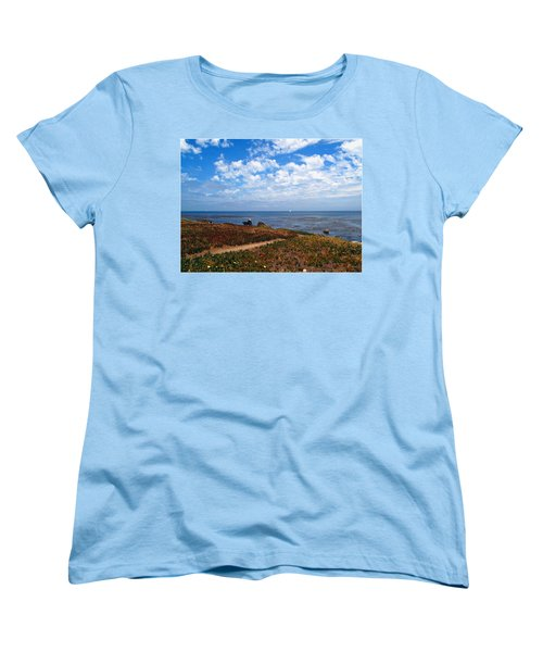 Women's T-Shirt (Standard Cut) featuring the photograph Come Sit With Me by Joyce Dickens